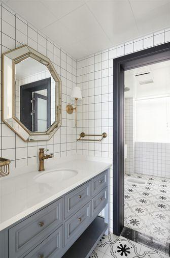 110平米三室一厅美式风格卫生间装修案例