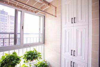 100平米三室两厅欧式风格阳台效果图
