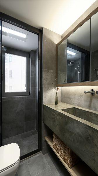 100平米三室两厅日式风格卫生间图