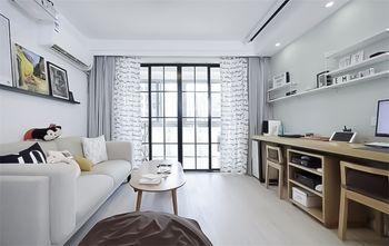 70平米田园风格客厅设计图