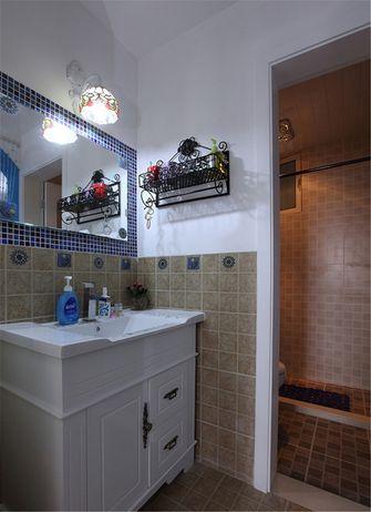 60平米一室一厅地中海风格卫生间图片