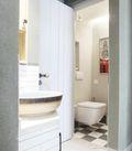100平米三宜家风格卫生间设计图