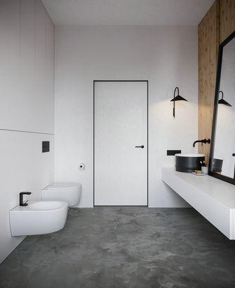 80平米现代简约风格卫生间装修图片大全