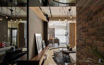 130平米三室一厅英伦风格走廊装修案例