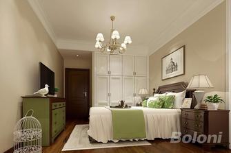100平米三室一厅美式风格卧室图片
