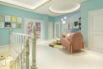130平米一居室美式风格客厅图片大全