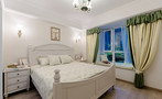 110平米三室三厅美式风格卧室欣赏图