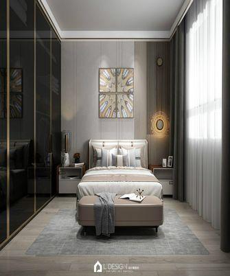 140平米三室五厅法式风格卧室欣赏图