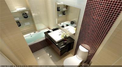 130平米三欧式风格卫生间设计图
