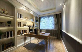 90平米三室两厅田园风格书房效果图
