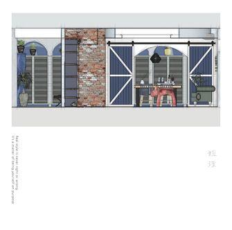 140平米别墅地中海风格影音室图片大全
