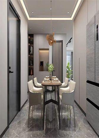 80平米中式风格餐厅图
