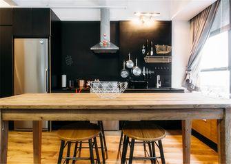 90平米三室两厅混搭风格餐厅装修效果图
