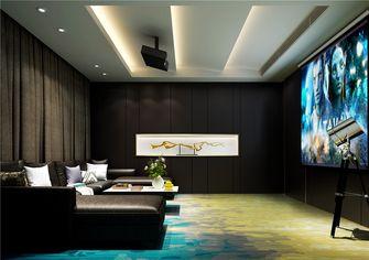 130平米三室两厅中式风格影音室设计图