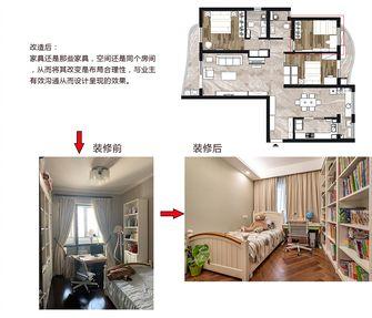20万以上140平米三室两厅美式风格儿童房图