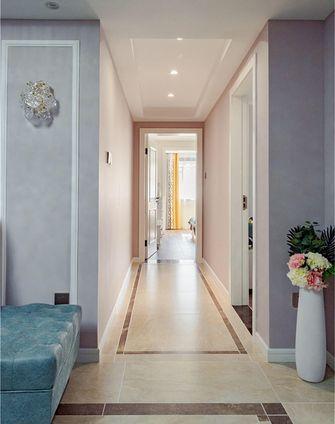 70平米三室一厅混搭风格走廊装修效果图