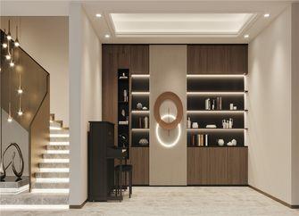 140平米四室一厅中式风格楼梯间设计图