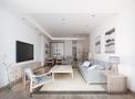 100平米日式风格客厅欣赏图