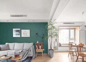 100平米三北歐風格客廳圖片大全