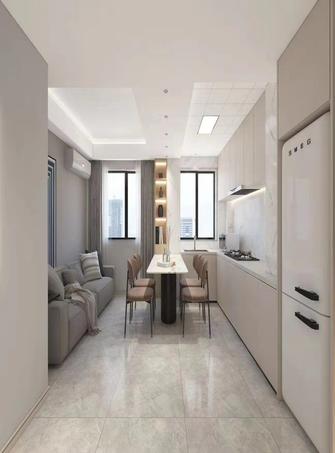 100平米四室两厅现代简约风格厨房装修案例