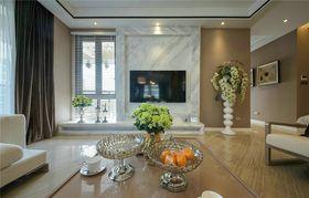120平米三室兩廳現代簡約風格客廳圖片