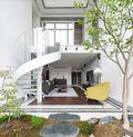 140平米复式美式风格阁楼图片