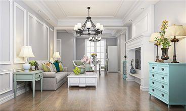 140平米三室两厅美式风格客厅图片大全