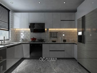 120平米三中式风格厨房欣赏图