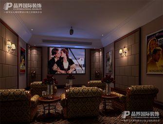 140平米别墅地中海风格影音室图