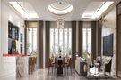 140平米别墅现代简约风格客厅效果图