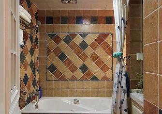 130平米三室两厅田园风格卫生间图片