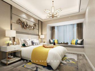 130平米四室两厅现代简约风格卧室背景墙装修案例