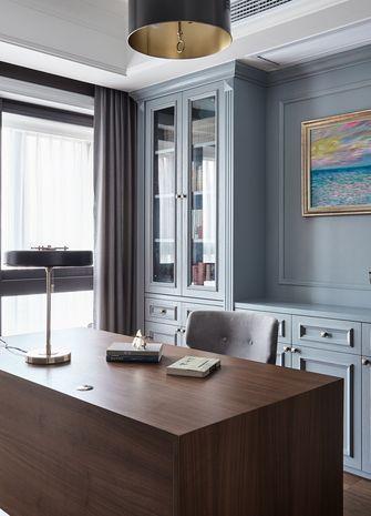 100平米四室一厅现代简约风格书房效果图