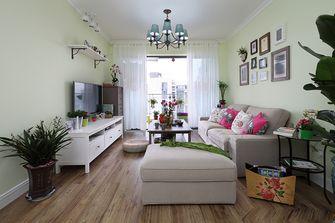 100平米三室一厅田园风格客厅图片