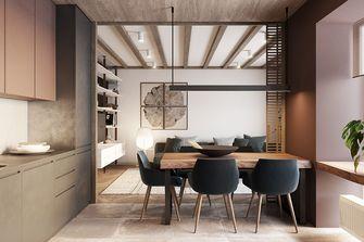 80平米东南亚风格餐厅设计图