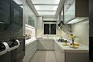 130平米三室一厅欧式风格厨房欣赏图