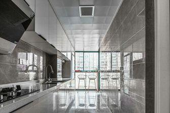 140平米三室两厅英伦风格厨房装修效果图