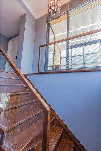 豪华型140平米三室三厅混搭风格楼梯效果图