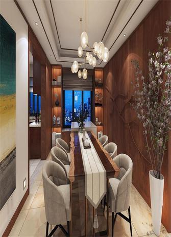 140平米三室四厅中式风格餐厅图