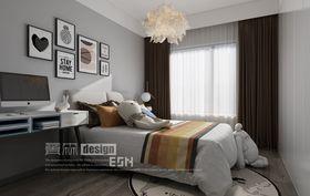 140平米三室兩廳現代簡約風格臥室裝修圖片大全