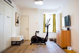 140平米复式北欧风格健身室图片