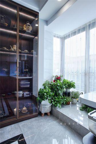 120平米三室两厅现代简约风格阳台装修图片大全