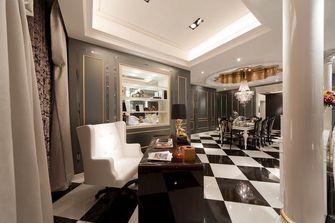 120平米三室一厅新古典风格书房图