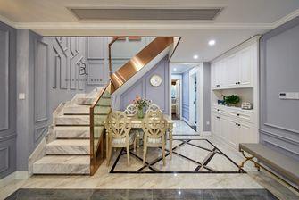 140平米三室一厅法式风格楼梯间装修效果图