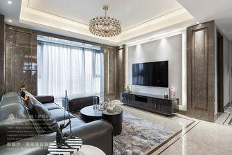 140平米四室四厅现代简约风格客厅设计图