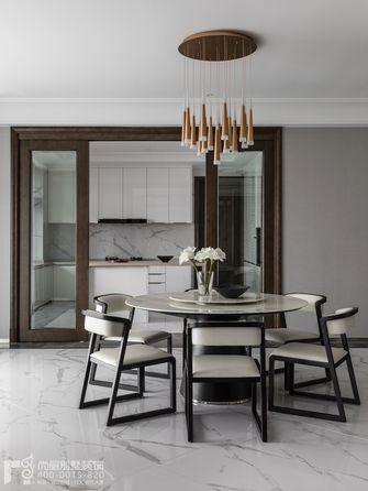 140平米别墅现代简约风格餐厅图