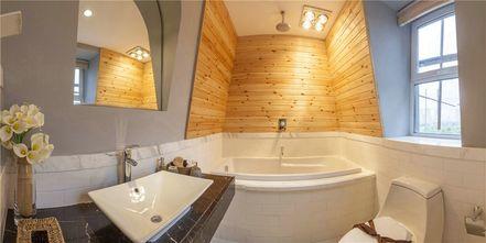 富裕型140平米四室一厅田园风格卫生间欣赏图