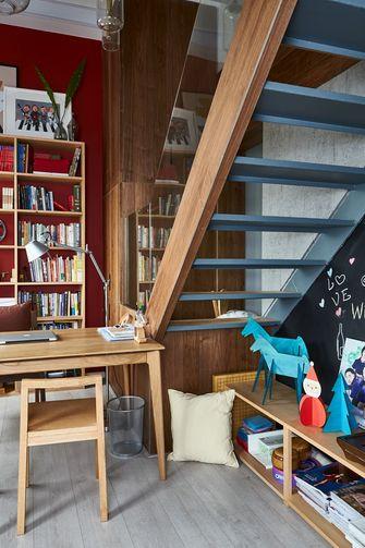 140平米复式北欧风格楼梯间设计图