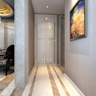 富裕型120平米三室两厅英伦风格走廊欣赏图