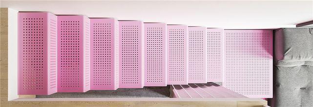 60平米复式现代简约风格楼梯间欣赏图